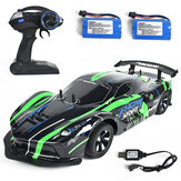 1:10 2.4G 4WD Drift Racing Car High Speed Off Road RC Car Lamplight 25KM / h Para veículos RC Modelo Multi Baterias