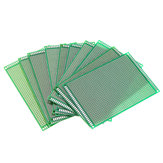 10pcs 8x12cm FR-4 2.54mm Single Side Prototype PCB Printed Circuit Board