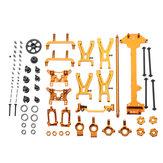 WLtoys 1/18 A949 A959 A969 A979 K929 Ulepszony zestaw części metalowych Złoty kolor