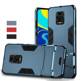 Bakeey Armor antichoc avec étui de protection Stand Holder pour Xiaomi Redmi Note 9S / Redmi Note 9 Pro / Redmi Note 9 Pro Max Non original