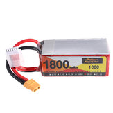 ZOP Power 18.5V 1800mAh 100C 5S Lipo Батарея XT60 Разъем для RC Дрон