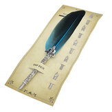 Feather Quill Pen Set Creative Feather Fountain Pen 0.7mm Nib Writing Signing Pens Gifts