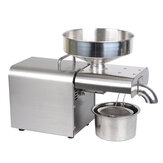 EU/US/AU/UK/GB Plug Stainless Steel Automatic Oil Press Machine 220/110V 1500W Saving Energy 20 Years Long Live for Kitchen