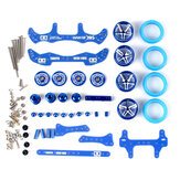 1 Set MA/AR Chassis Modification Set Kit With FRP Parts For Tamiya Mini 4WD RC Car Parts With Wheel