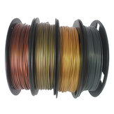 CCTREE® 4Color PLA Set Bronze + Copper + Gold + Silver 1.75mm 200g / Roll PLA Filament Set for 3D Printer Reprap