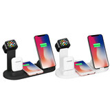 Bakeey 4 in 1 10W Wireless Charger Multi Fungsi Charger untuk Apple Phone Watch