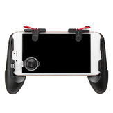 4 in 1 ABS Black Game Controller Trigger Shooter Gamepad con chiave di fuoco per PUBG compatibile con smartphone