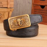 125CM Men Business Genuine Leather Belt