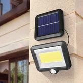 128/120 / 100COB 98 / 56SMD LED Le capteur de jardin à énergie solaire s'allume étanche
