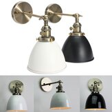 E27 Vintage Antique Industrial Bowl Sconce Loft Rustieke Trap Muurlamp Light Fixture
