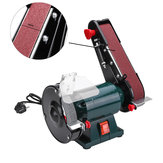 6 Inch 150mm Bench Grinder Belt Sander Sharpener Linisher Electric Sanding Grinding Machine