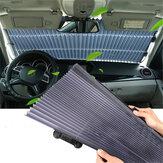 Autofenster Windschutzscheibe einziehbarer Sonnenschutz Automatischer teleskopischer Sonnenschutzvorhang