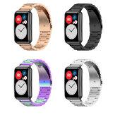 Reloj inteligente con correa de repuesto de acero inoxidable Bakeey Banda para ajuste de reloj Huawei