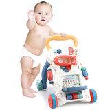 座って立つ赤ちゃん学習ウォーカーベビーカー教育用プッシュおもちゃ赤ちゃん幼児キッズウォーカーインタラクティブプレイおもちゃ