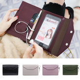Universal Women Portable Large Capacity Card Slot Phone Wallet for Mobile Phone