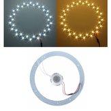18W 5730 SMD LED lâmpada luminárias placa do painel círculo teto anelar