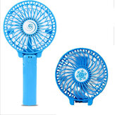 Mini Handheld Solar Fan Folding 720° Rotation 2 Modes USB Rechargeable Desktop Fan Summer Camping Travel