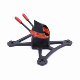 FONSTER Tpro Tandenstoker 2,5 Inch 100mm Wielbasis X Type FPV Racing Frame Kit 18.2g 20x20mm 25.5x25.5mm 26.5x26.5mm