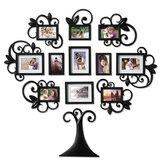 Foto da árvore genealógica em 3D colagem de porta-retratos adesivos de parede e decoração de casa