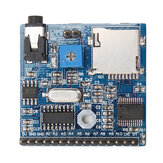 DC 5V 1A Voice Playback Module Board MP3 Voice Prompts Voice Broadcast Device Support MP3/WAV 16GB TF Card Geekcreit for Arduino - products that work with official Arduino boards