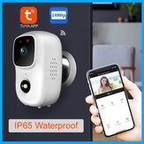 B90 Tuya Smart 1080P WiFi PIR IP Camera HD Cloud Storage Wide Range Night Vision Waterproof Video Talk-back Doorbell Monitoring Wireless Monitor