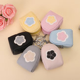 Women Quality PU Leather Cute Floral Pattern Change Wallet Coin Purse Card Holder