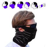 Ao ar livre multifunções mágica da proteção lenço rosto bike máscara bicicleta lenço morno à prova de vento