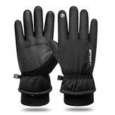 Touch Screen Thickening Thermal Waterproof Winter Snow Ski Gloves Warm