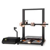 TWO TREES® Tornado V2 Kit de impresora 3D actualizado 300 * 300 * 400 mm Tamaño de impresión con extrusora BMG / Silicona Cama con calefacción / Plataforma de vidrio