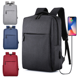 Business Backpack Laptop Bag Classic Backpacks 17L with USB Charging Students Men Women Schoolbags For 15-inch Laptop