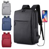 Sac à dos pour ordinateur portable Classic sacs à dos 17L avec chargement USB étudiants hommes femmes cartables pour ordinateur portable 15 pouces