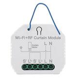 MoesHouse MS-108WR WiFi RF inteligentny moduł rolety kurtyny przełącznik silnik roletowy Tuya bezprzewodowy pilot zdalnego sterowania praca z Alexa Google Home