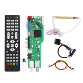 5 OSD Game RR52C.04A Admite señal digital DVB-S2 DVB-C DVB-T2 / T ATV Universal LCD Placa de controlador Dual USB Play Media 40Pin 1CH 6 bit