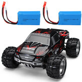 Wltoys A979 z dwiema bateriami 1/18 2.4G 4WD Off-Road Truck RC Car Vehicle RTR Model