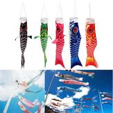 40 cm Japon Tarzı Koi Nobori Sazan Bayrak Rüzgar Çorap Koinobori Balık Su Geçirmez Uçurtma Maskot El Sanatları Asılı Dekor