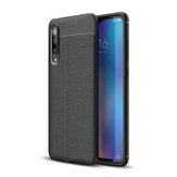Bakeey Litchi Pattern Shockproof Soft TPU Back Cover Protective Case for Xiaomi Mi9 Mi 9 / Xiaomi Mi9 Mi 9 Transparent Edition Non-original