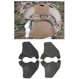 Universal Men Rubber Side Protector Ears Covers For Helmet