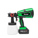 HILDA CDSP004 21V Electric Paint Sprayer Painting Tool with Adjustment Knob For DIY Furniture Woodworking