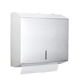 Stainless Steel Hand Paper Towel Dispenser Holder Toilet Tissue Box Heavy Duty