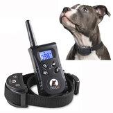 PaiPaitek  PD 520S-1 500M Remote Control Dog Training Collar Static Shock Vibration Rechargeable Waterproof Dog Training Device - Black