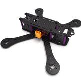Realacc X4R X5R X6R 180mm 220mm 250mm 4mm Arm Carbon Fiber Frame Kit met BEC Output PDB