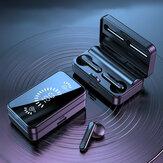 Bakeey S20 TWS écouteurs bluetooth écouteurs stéréo LED casque d'affichage sport sans fil avec micro
