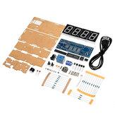 WangDaTao YD-010 LED Digital Eletrônico DIY Relógio Kit de Produção com Shell