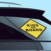 أطفال على متن الفينيل صائق نافذة السيارة الوفير ملصقا سلامة الطفل تسجيل