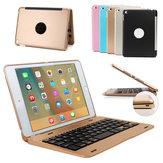 Aluminium Alloy Trådlös Bluetooth Tangentbord Väska För iPad Mini 4