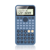 PN-2891 calculatrice scientifique 240 méthodes de calcul outil de calcul pour fournitures de bureau scolaire fournitures d'examen calculatrice de fonction scientifique