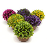 Arvore Artificial Topiary Tree Ball Plantas Pot Garden Office Home Indoor Decor Flower