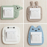Cartoon Bathroom Luminous Light Switch Sticker Wall Sticker Switch Cases Switch Adornment