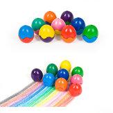Solid Egg Crayon Random Color Crayon Children Không độc hại Vẽ Bút Đồ chơi