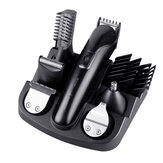 6 in 1 Electric Hair Clipper Rechargeable Beard Ear Nose Hair Trimmer Shaver